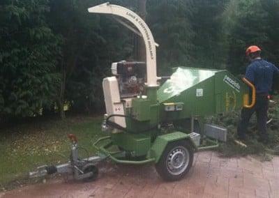 voorbereiding tuinaanleg Hoveniersbedrijf Robert Sterk Hilversum